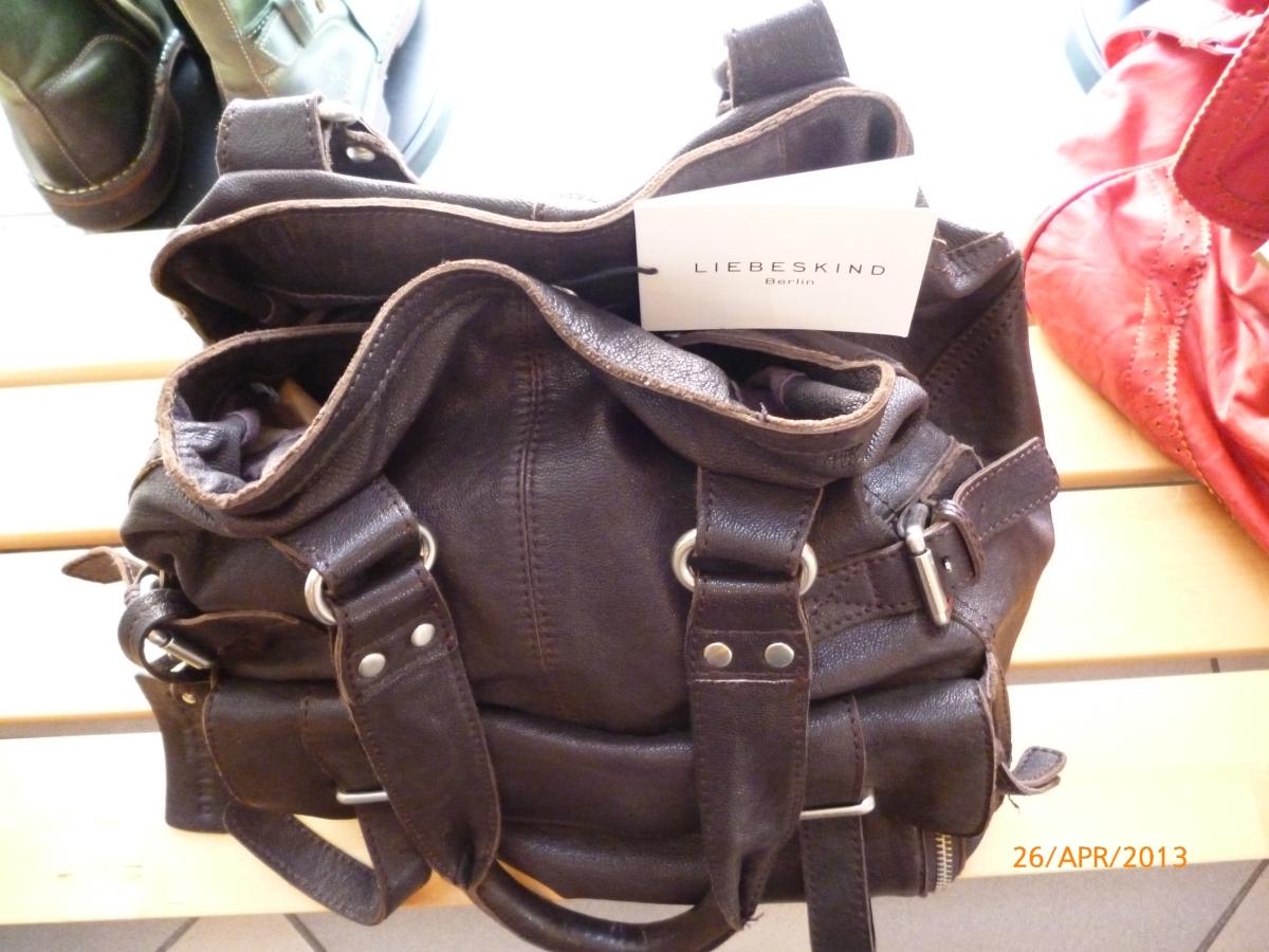 kostenloser Versand letzte Veröffentlichung Top-Mode braune Liebeskind-Tasche – Amelie
