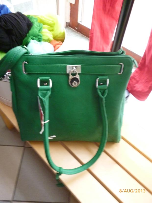grüne Tasche (2)